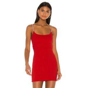.NEW NBD Leon Mini Dress Red Small .03